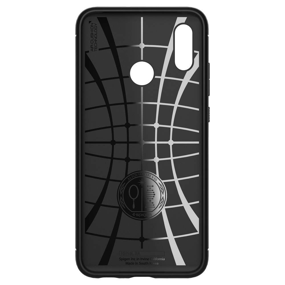 PrimeShop.ro - SPIGEN RUGGED ARMOR HUAWEI P SMART 2019 NEGRU