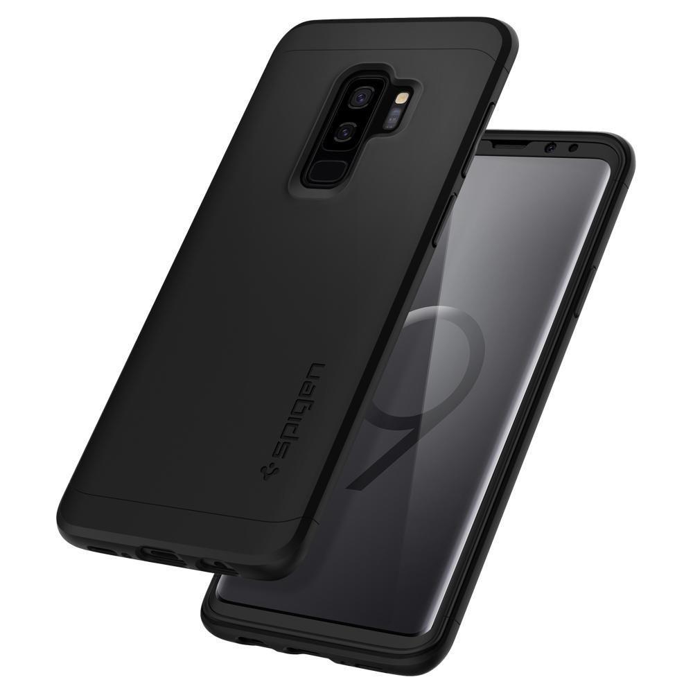 PrimeShop.ro - SPIGEN THIN FIT 360 GALAXY S9 + PLUS BLACK
