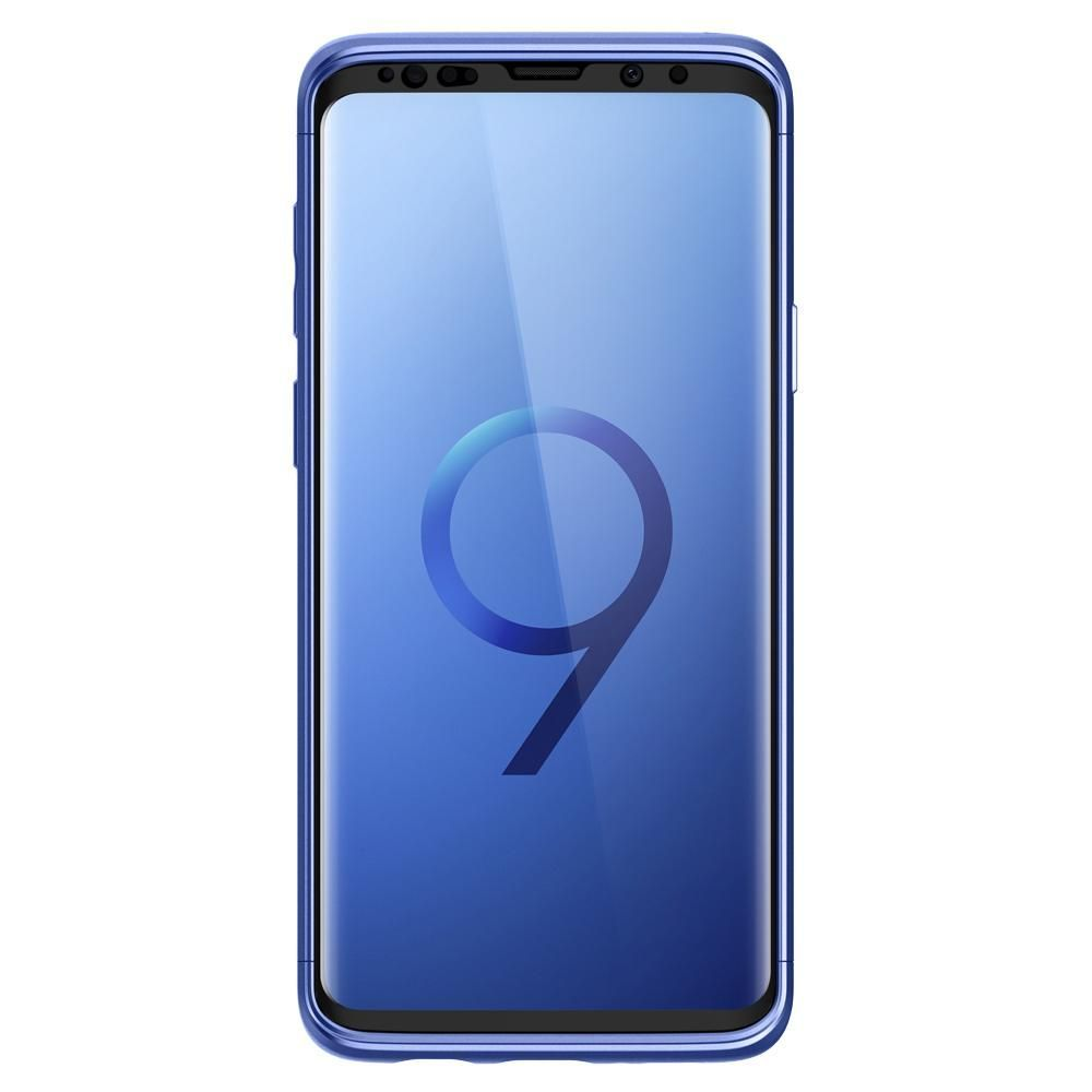 PrimeShop.ro - SPIGEN THIN FIT 360 GALAXY S9 CORAL BLUE