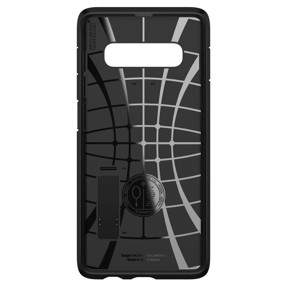 PrimeShop.ro - SPIGEN TOUGH ARMOR GALAXY S10 NEGRU