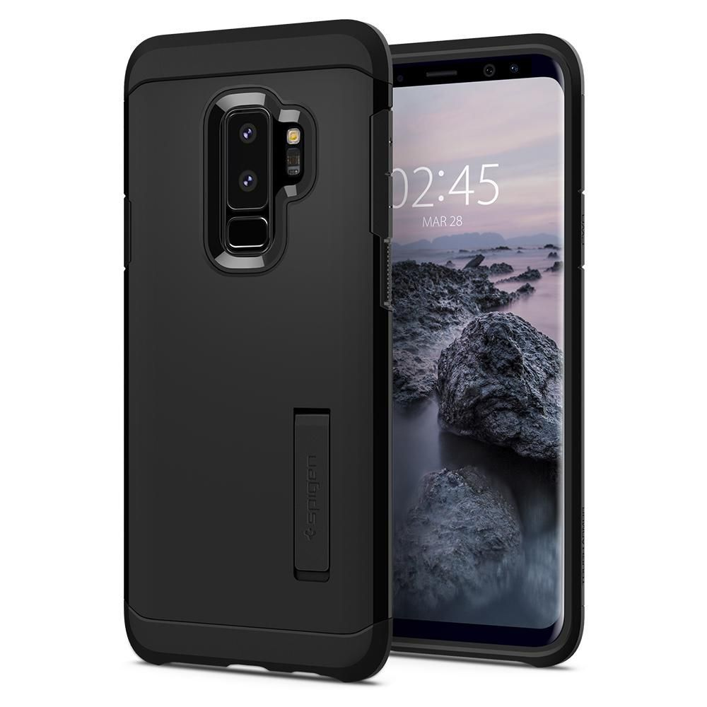 PrimeShop.ro - SPIGEN TOUGH ARMOR GALAXY S9 + PLUS BLACK