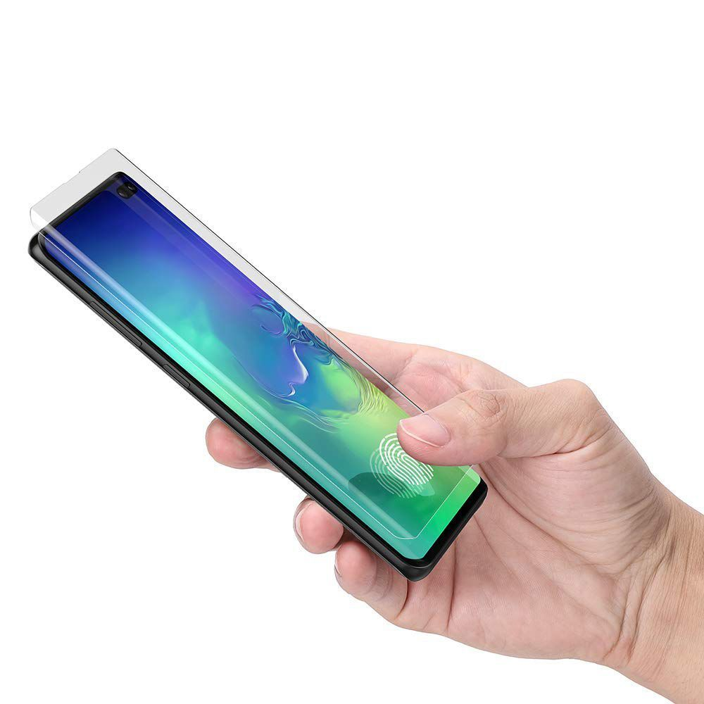 PrimeShop.ro - HOFI STICLA UV GALAXY S10 + STICLA TEMPERATĂ PLUS CUSĂ