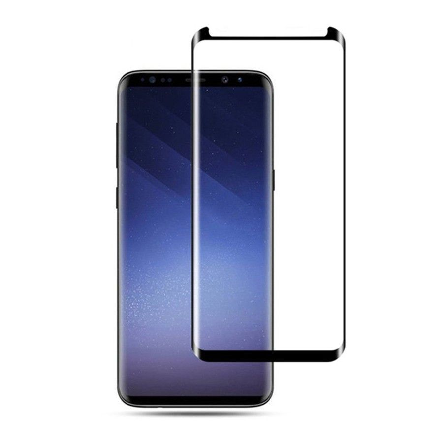PrimeShop.ro - MOCOLO TG + STICLA TEMPERATĂ CASĂ 3D FRAENDLY GALAXY S9 BLACK