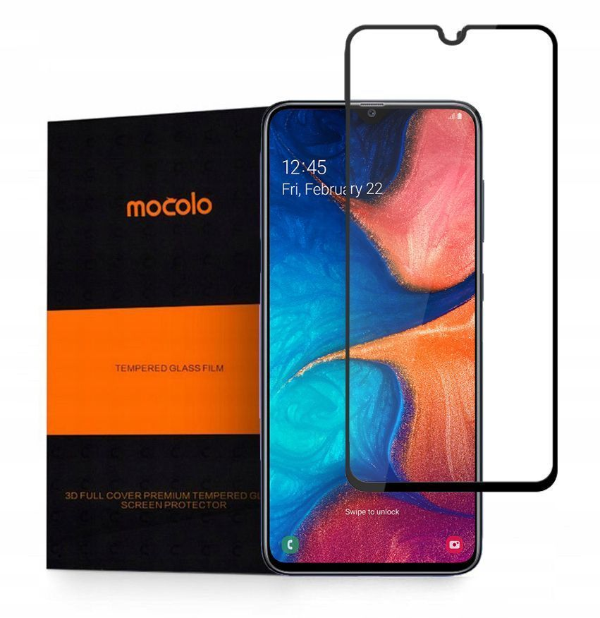 PrimeShop.ro - MOCOLO TG + STICLA TEMPERATĂ + GALAXY A10 BLACK