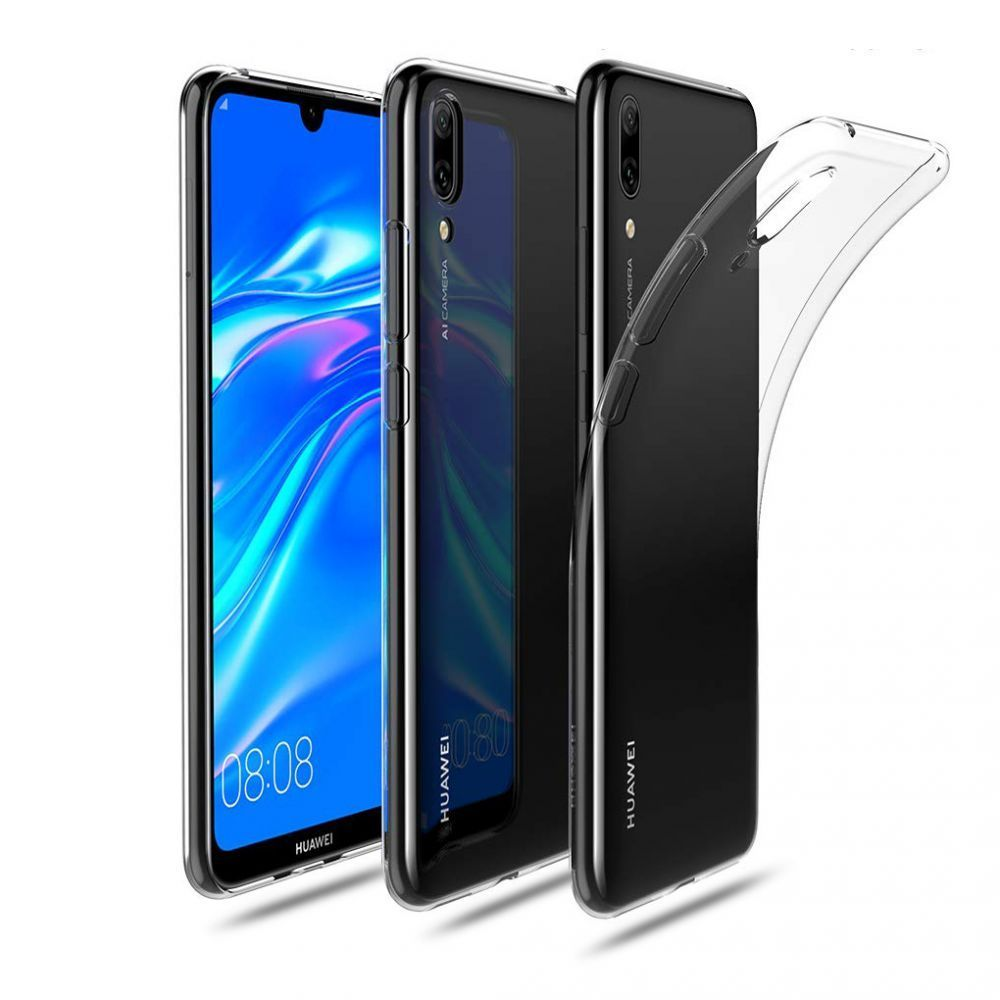 PrimeShop.ro - TECH-PROTECT FLEXAIR HUAWEI Y7 2019 CRYSTAL